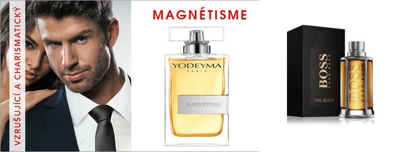YODEYMA Magnetisme - Vonná charakteristika parfému - Hugo Boss - The Scent for Him