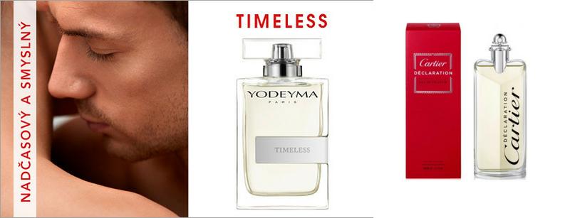 YODEYMA Timeless - Vonná charakteristika parfému - Cartier - Declaration