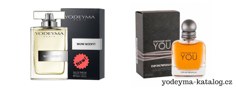 WOW SCENT! YODEYMA EDP Vonná charakteristika parfému EMPORIO ARMANI STRONGER WITH YOU