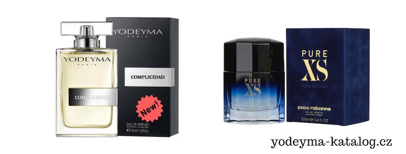 YODEYMA COMPLISIDAD EDP Vonná charakteristika parfému PURE XS Paco Rabanne