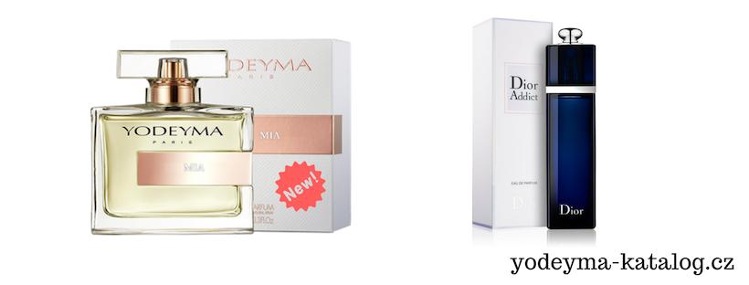 YODEYMA MIA EDP Vonná charakteristika parfému DIOR ADDICT