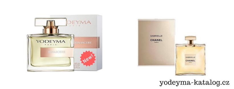 YODEYMA RINASCERE EDP Vonná charakteristika parfému GABRIELLE Chanel
